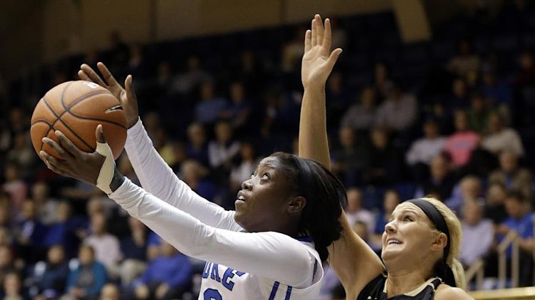Liston leads No. 2 Duke women over Vandy 88-69