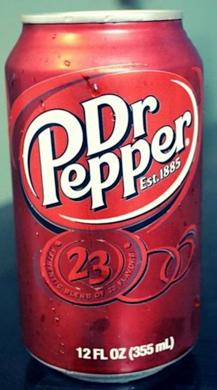 Dr Pepper Soda Pop