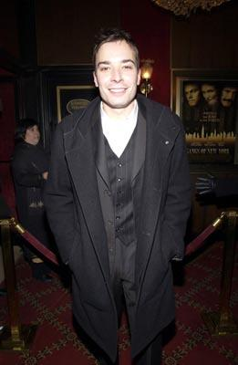 Jimmy Fallon at the New York premiere of Miramax's Gangs of New York