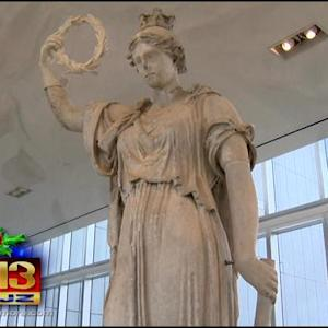 Lady Baltimore Lights Up New Home At The Maryland Historical Society