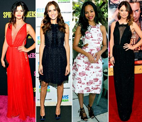 Selena Gomez, Allison Williams, Zoe Saldana, Olivia Wilde: Who Wore the Best Look of the Week?