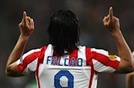 Falcao: I am very happy at Atletico Madrid