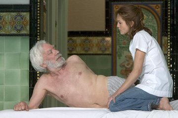 Donald Sutherland and Diane Lane in Autonomous Films' Fierce People
