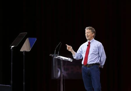 Senator Rand Paul wins straw poll in boost to 2016 presidential prospects