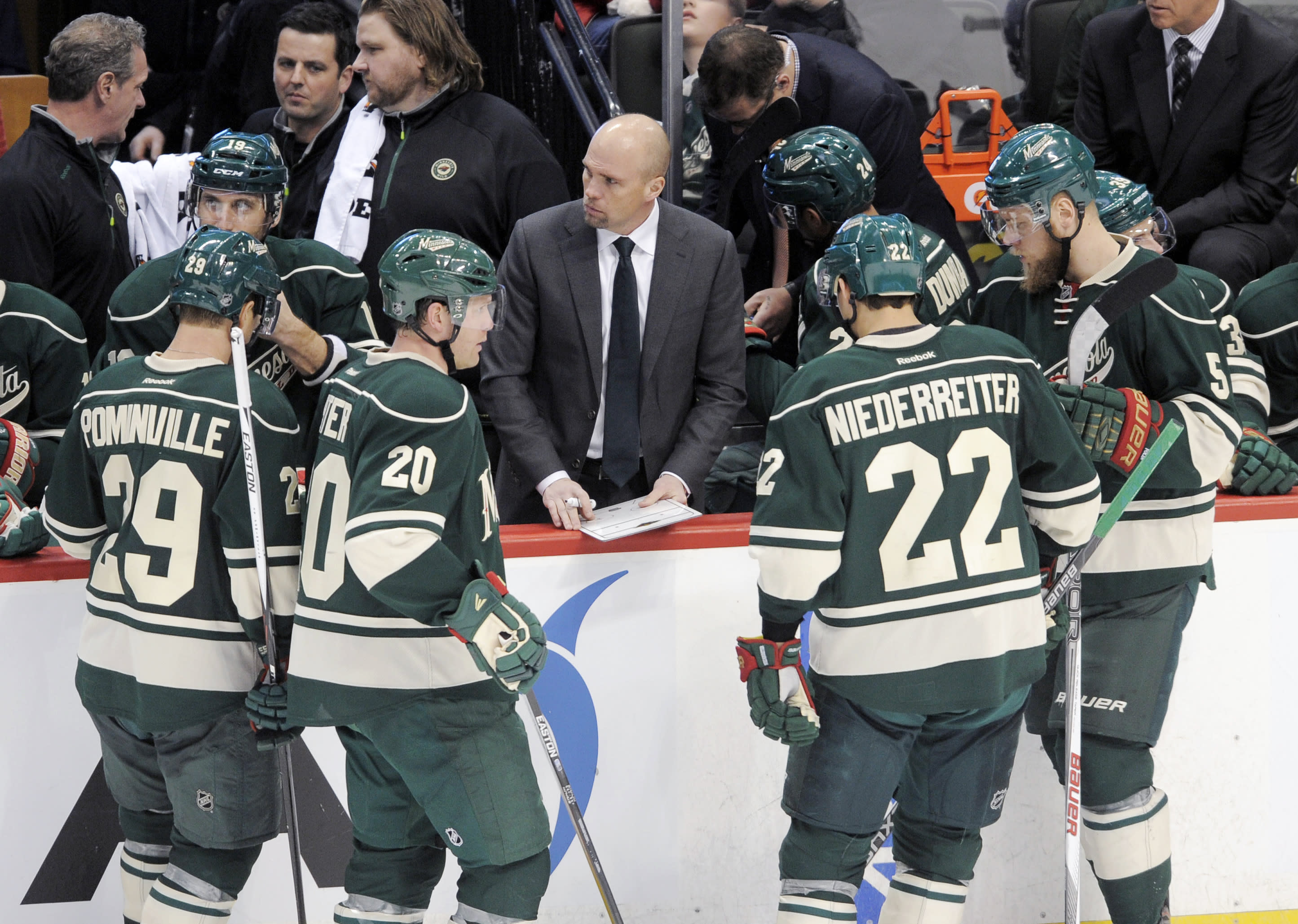 Wild fire coach Mike Yeo following 8th straight loss