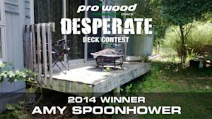 ProWood® Desperate Deck Contest Winner Announced!