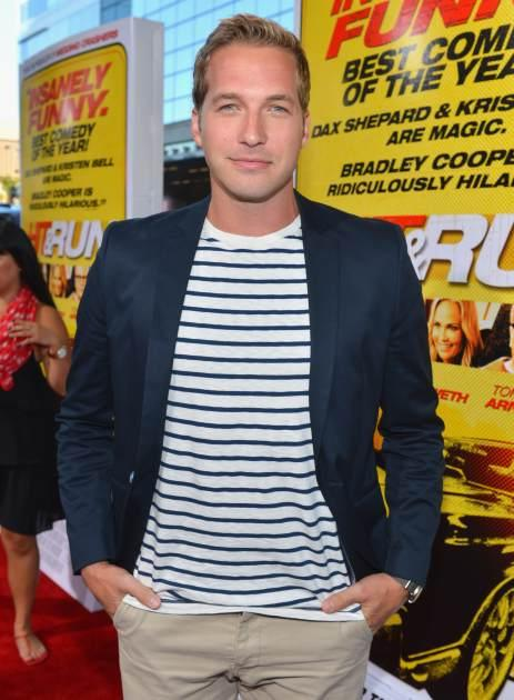 Ryan Hansen arrives at the premiere of 'Hit and Run' on August 14, 2012 in Los Angeles -- Getty Images