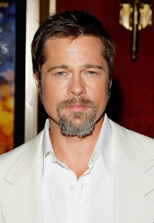 The Time Traveler's Wife NY Premiere 2009 Brad Pitt
