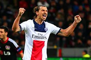 Ibrahimovic named Ligue 1 Player of the Year
