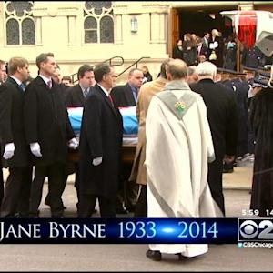 Fans Of Chicago's Only Female Mayor Say Goodbye At Funeral