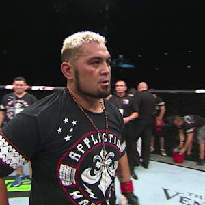 Fight Night Japan: Mark Hunt Octagon Interview