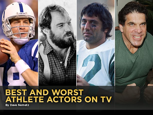 Best and Worst Athlete Actors …