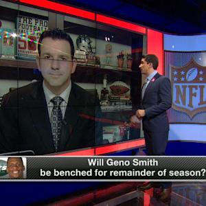 Will New York Jets quarterback Geno Smith be benched for remainder of season?