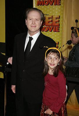 Darrell Hammond and daughter at the New York City premiere of DreamWorks Pictures' Bee Movie