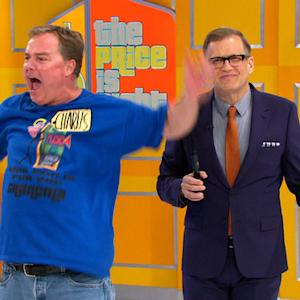The Price is Right - Shaking On Stage