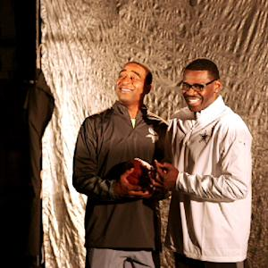 NFL Fan Pass: Michael Irvin and Cris Carter's Pro Bowl commercial