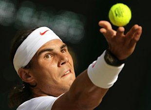 Photo 1 - Spain's Rafael Nadal Prepares AFP/Getty Images