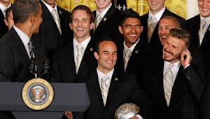 "LA Galaxy eager for yet another White House visit: ""It's absolutely amazing"""