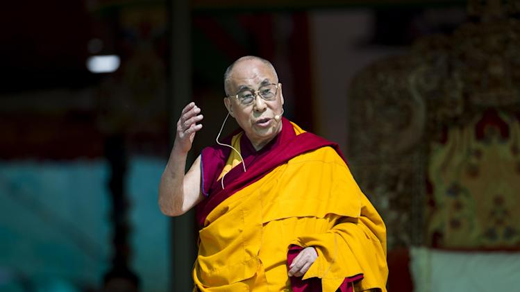 Tibetan spiritual leader the Dalai Lama