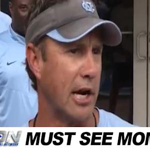 Larry Fedora Joins the ALS Ice Bucket Challenge | Must See Moment