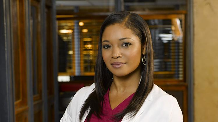 "Tamala Jones stars as Medical Examiner Lanie Parish in ""Castle."""