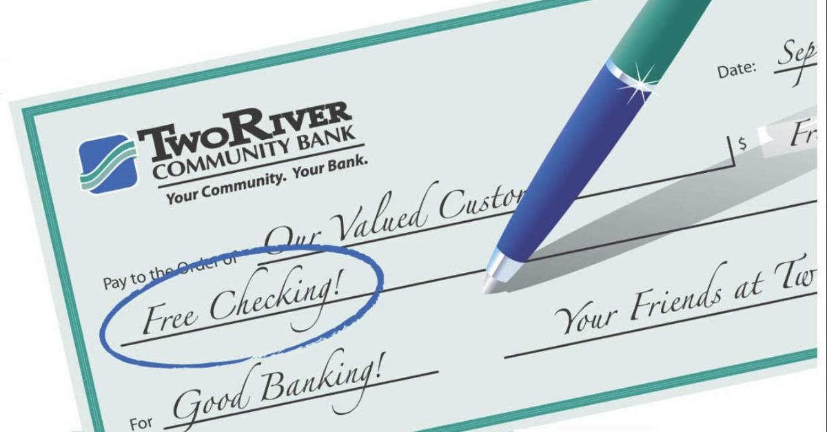 Open A Free Checking Account, Even With Bad Credit