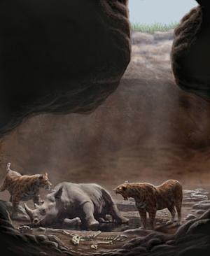 Killer Cave Lured Ancient Carnivores to Their Death
