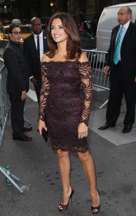Penelope Cruz outside Piaget event
