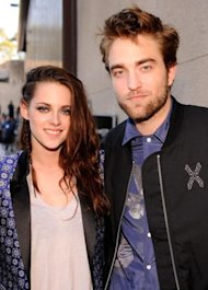 Kristen Stewart y Robert Pattinson via WireImage