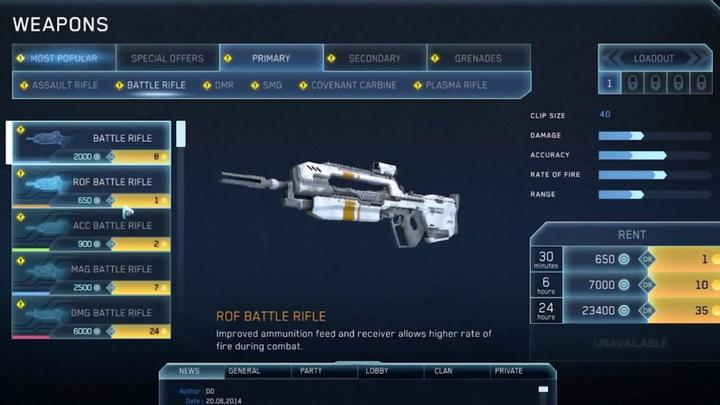Check out the gameplay, in-game prices for Halo Online