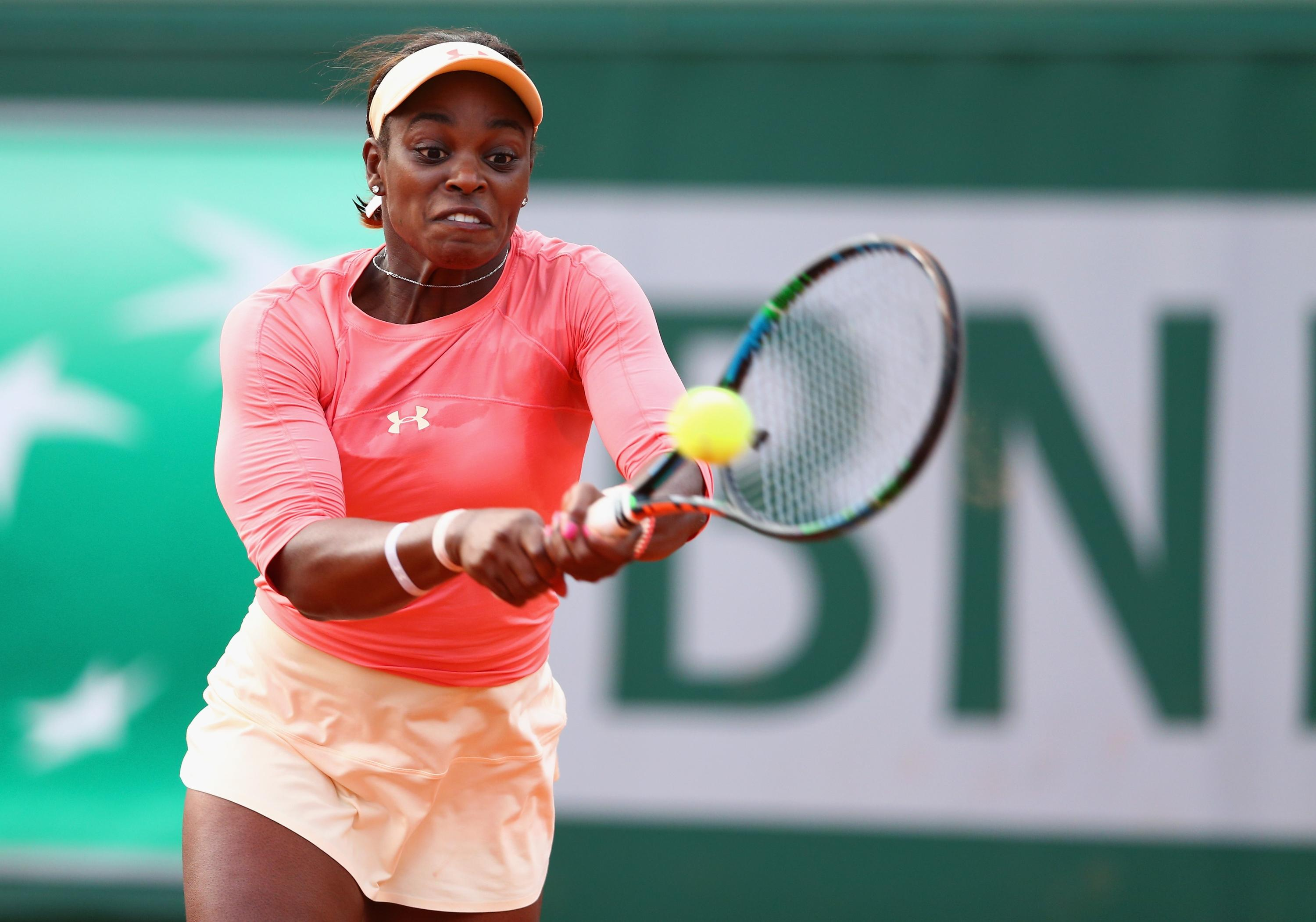 Sloane Stephens eliminates Venus Williams in first round at French Open