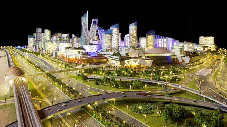 In photos: The world's largest mall and indoor theme park