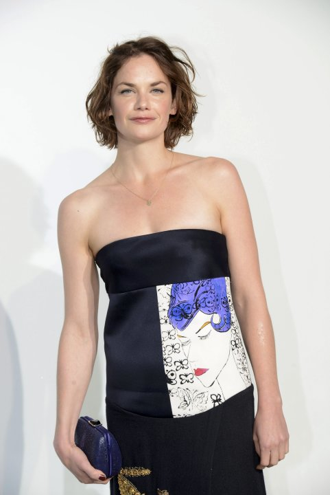 Actress Ruth Wilson arrives at a fashion show by Belgian designer Raf Simons for French fashion house Dior in Monaco