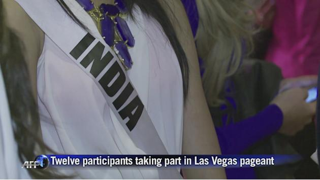 Hopefuls gather in Las Vegas for Miss Universe 2012