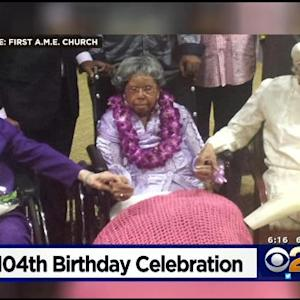 104-Year-Old Woman Celebrates Birthday In South LA