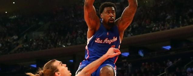Jordan's monster dunk embodies Clippers rout