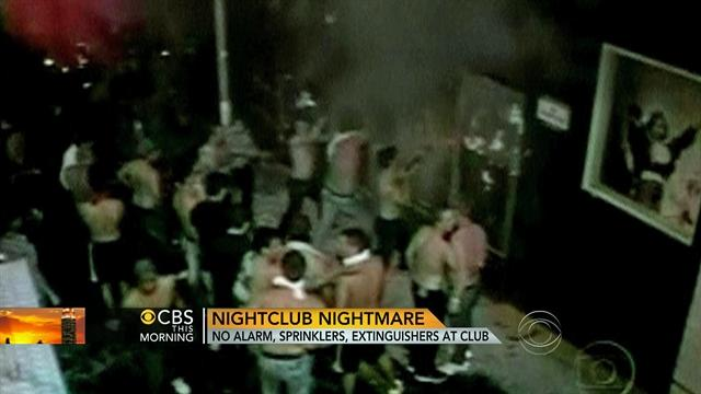 Brazilian nightclub nightmare: No alarm, sprinklers in club