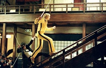 Uma Thurman in Miramax's Kill Bill: Volume 1