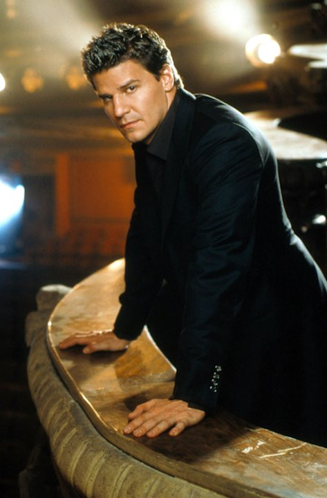 Angel (David Boreanaz) on …