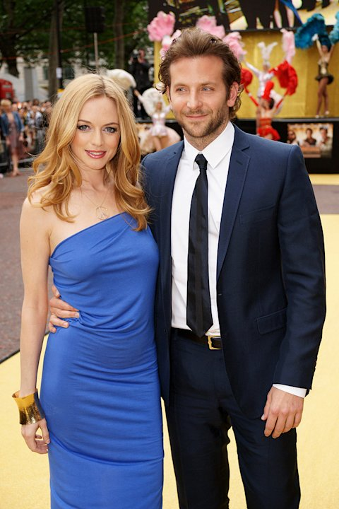 The Hangover UK Premiere 2009 Bradley Cooper Heather Graham