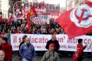 Rome protesters target plans to make firing easier