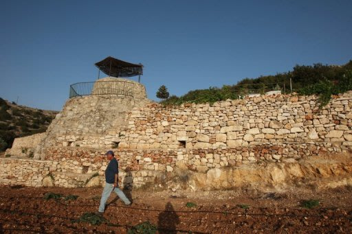 Traditional Stone Walls Help Protect Palestinian Land