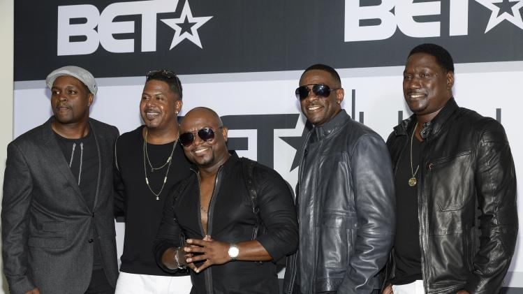 Troop, Color Me Badd & Silk Perform At BET Awards 2014