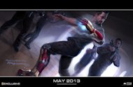Iron Man 3  Erstes Concept Art-Bild von Robert Downey Jr.