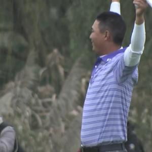 Haimeng Chao comes from behind to win the Nine Dragons Open
