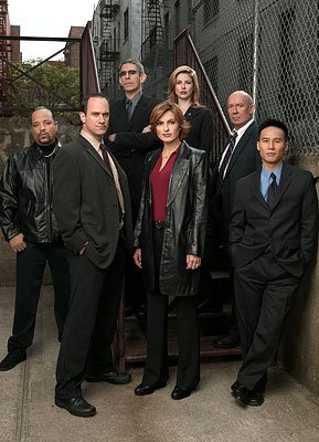 "(clockwise from left) Ice-T, Christopher Meloni, Richard Belzer, Diane Neal, Dann Florek, B.D. Wong and Mariska Hargitay NBC's""Law and Order: Special Victims Unit"" Law & Order: Special Victims Unit"