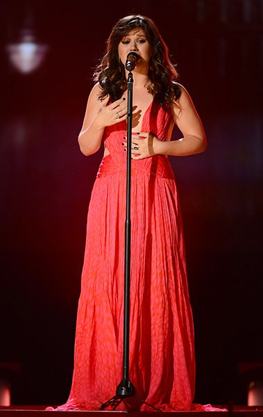 Onstage at the 2012 Billboard Music Awards