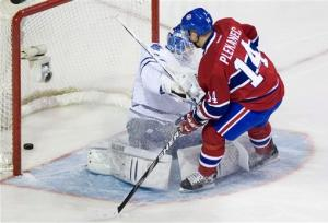 Last-place Canadiens beat Leafs 4-1 in finale