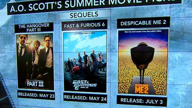 Must-see summer movies: Sequels, superheroes, and zombies