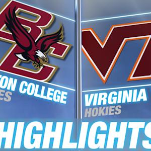 Boston College vs Virginia Tech | 2014-15 ACC Men's Basketball Highlights